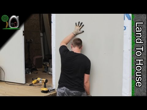 Exterior Hardie Board Siding - Build a Workshop #33 - YouTube