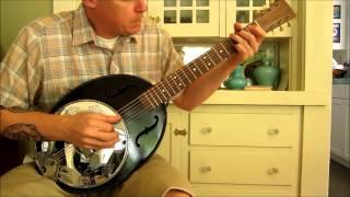 Turkey Tone #6 - Enamelware Parlor Guitar