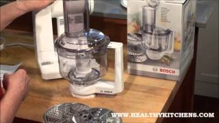 Bosch Mixers   Attaching the Food Processor