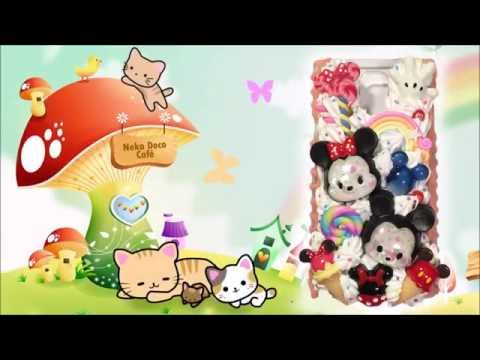 ♡ DECODEN DIY TUTORIAL: Tsum Tsum Whipped Cream Case with Melty Side Drips ♡