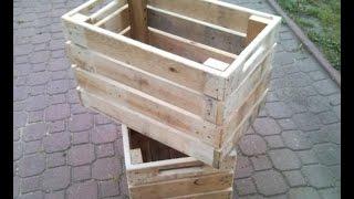 Ящик из поддона -  Box from the pallet