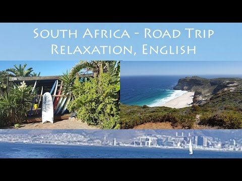 South Africa ♥ Relaxation Dream Journey (Soft Spoken Road Trip, ASMR English, Traumreise)
