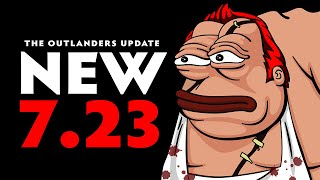 NEW 7.23!!! OUTLANDERS UPDATE DOTA 2 | Zipfile Pudge God Is BACK!! Pudge Official