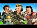 Carrying Lazarbeam & Muselk in Apex Battle Royale!