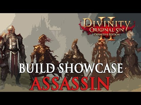 Divinity Original Sin 2 Builds - Assassin Gameplay Showcase (Commentary)