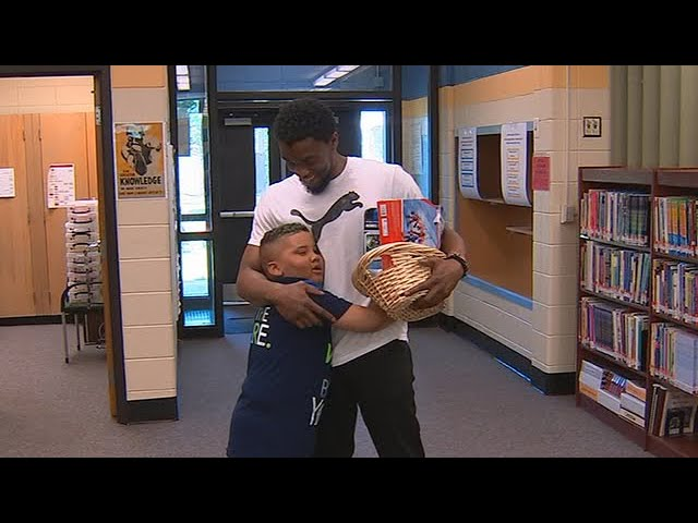 Remembering Chadwick Boseman and connection he shared with Cobb County kid battling cancer