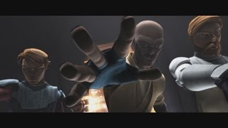 star wars the clone wars anakin obi wan mace windu interrogates cad bane 1080p