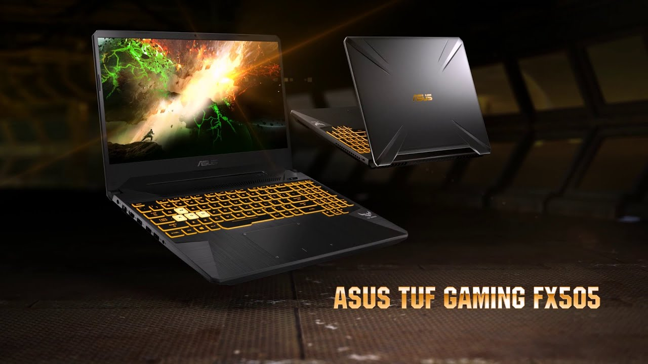 ASUS TUF Gaming FX505DT - YouTube