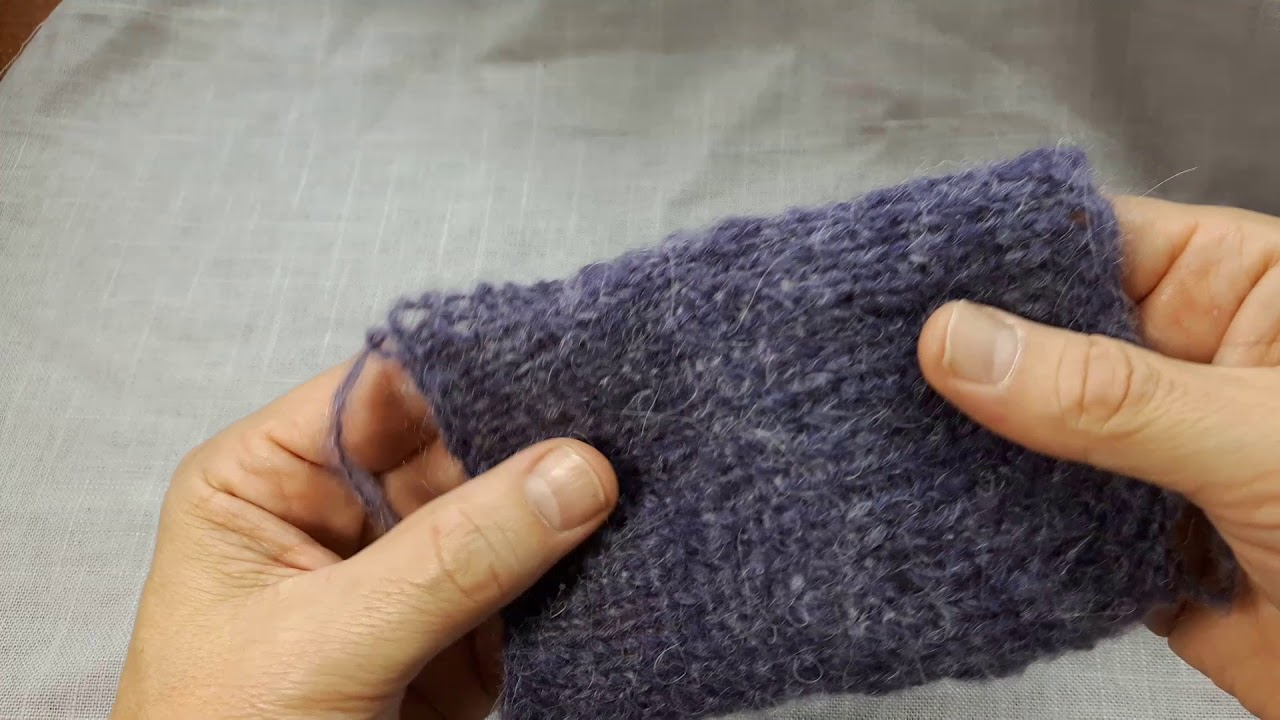 4 tips for knitting with fuzzy yarn
