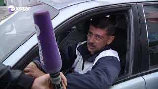 Qanunsuz pul alınır - Sürücülərə heç bir qəbz təqdim edilmir