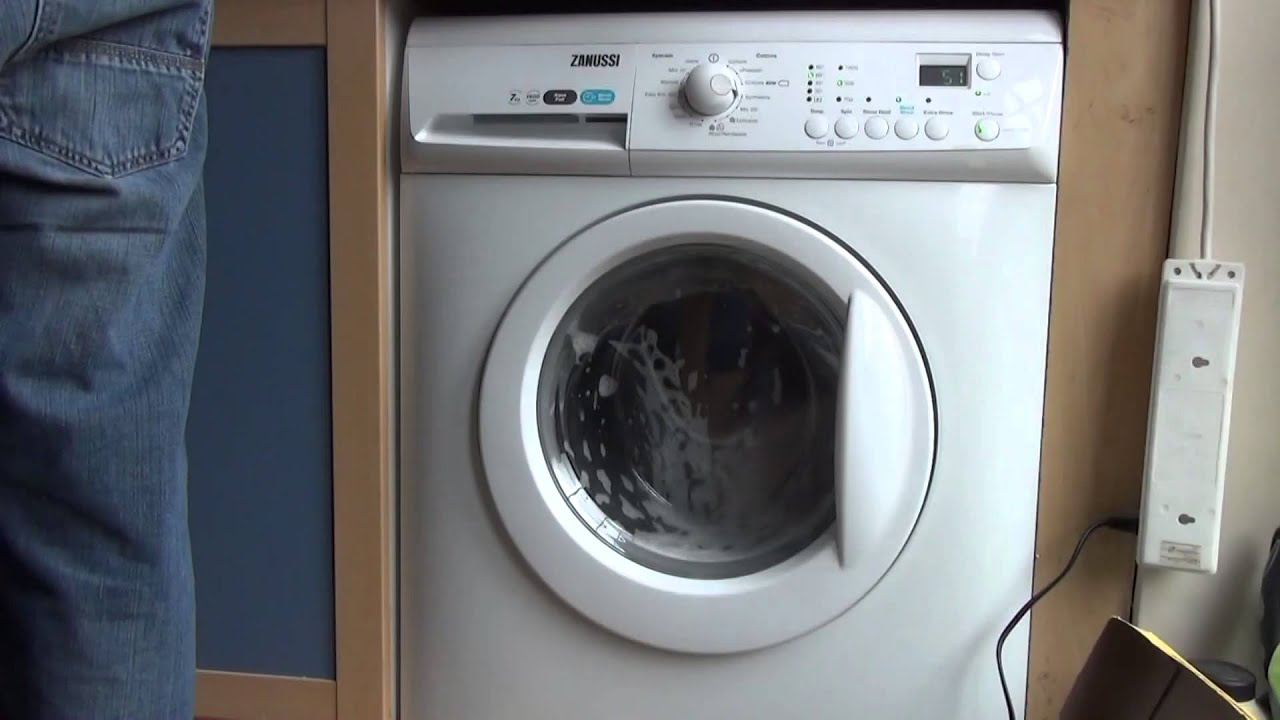 Quick Wash, Mega Fast Top Zanussi 16Washing Machine, Fully