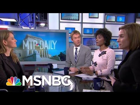 Washington Post Trump Interview: President Attacks Fed, Relies On His 'Gut' | MTP Daily | MSNBC