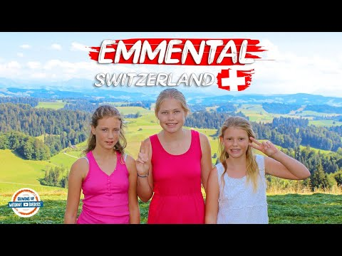 Emmental Switzerland - Cookies, Cheese & Sleeping On Hay | 90+ Countries With 3 Kids