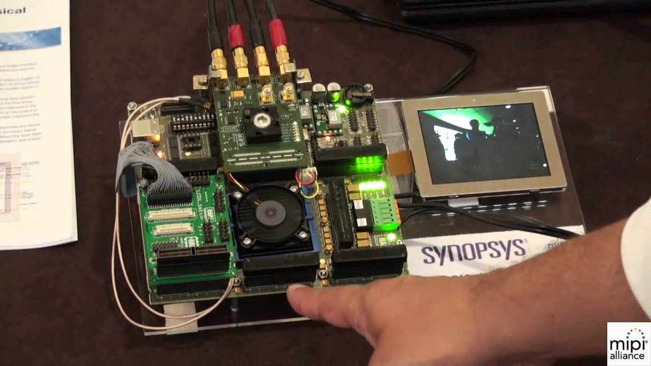 Synopsys MIPI CSI-2 Demo and DesignWare MIPI IP Overview