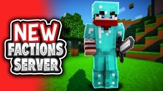 MCPE NEW FACTIONS SERVER! - Minecraft PE (Pocket Edition)
