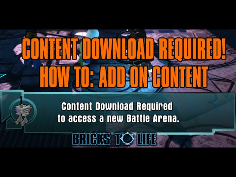 HOW TO: Content Download Required For Additional Content - Lego ...