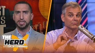Nick Wright: Magic wasn't prepared, says LeBron lacks experience with young players   NBA   THE HERD