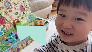 [HABA] 어린이보드게임 성벽을 오르는 개구리 -6살…