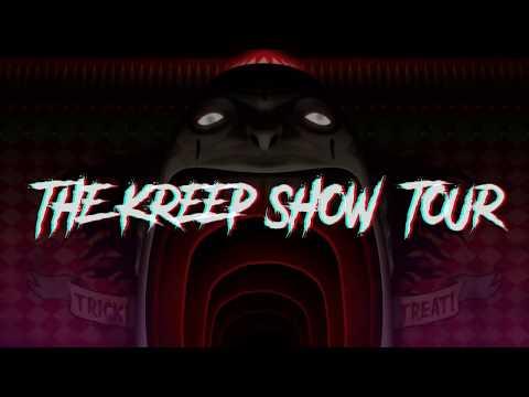 The Kreep Show Tour with Figure and Midnight Tyrannosaurus! Tix On Sale Now!!