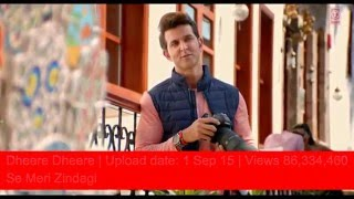 Top 10 most viewed bollywood song 2015