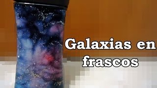 DIY- Galaxias en frascos