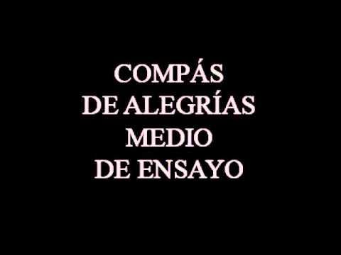 BASE DE COMPÁS DE ALEGRÍAS,  MEDIO TEMPO