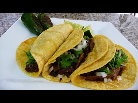 Steak and Chorizo Tacos Recipe