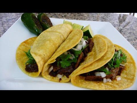 Steak and Chorizo Tacos Recipe