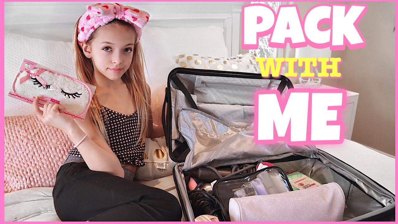 Pack With Me Travel Organization Hacks Quinn Sisters Youtube