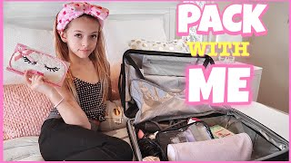Today Coco Quinn shares what her travel tips and packing hacks. She is gong on a mini two day vacation with her sister Rihanna Quinn. So be sure to subscribe so you can be notified when they announce where they are going! She shares how to pack and what carry on essentials she uses.   Subscribe to our YouTube  channel:   youtube.com/c/QuinnSisters3  See more challenges here in our challenges playlist!  https://www.youtube.com/watch?v=UdRobJsBJT4&list=PLZGLuoO3t-nhVIABhEWhLFsroDXnuKPtS  Products listed in this video:   BCBG Suitcase Macy's: https://go.magik.ly/ml/k1ai/ BCBG Suitcase Amazon: https://amzn.to/2tcZfsx Makeup Case Nicole Miller: *I can't find the exact one I have but here is another cute pink one on on Amazon: https://amzn.to/2DYuAW8 Travel Bottle Bag *I can't find the Isaac Mizrahi one I have but here is a  similar one on amazon: https://amzn.to/2HWRNMn Unicorn Face Mask: https://amzn.to/2MW14mu Gold Face mask: *not the exact one I have from Precision Beauty but here is a very similar on on Amazon https://amzn.to/2GvKqsL Damsel Emergency Kit: https://amzn.to/2MSgjx3 This is the only waterless diffuser I could find this one is not the brand I have though:  https://amzn.to/2UKNnJS Batiste Dry Shampoo pack with 4 small bottles instead of the three I have: https://amzn.to/2E0R9JF Jason Rose Deodorant: https://amzn.to/2t9Rq6H Laundry bag: * not the exact bag but a cute one I found on Amazon  https://amzn.to/2DY36zQ Head band for face wash: *not with hearts but polkadots and is not the same brand. https://amzn.to/2tcucgq Unicorn Sleeping Mask:*not the same one but another cute one on Amazon https://amzn.to/2UIDFI0 Pink Victoria Secret Everyday (Makeup) bag: https://go.magik.ly/ml/k1cn/ James Charles Palette: https://go.magik.ly/ml/jtwp/ Jaclyn Hill Eyeshadow Palette: https://go.magik.ly/ml/jtx2/ Too Faced Born this way foundation: https://go.magik.ly/ml/jtut/ Too Faced Setting Powder: https://go.magik.ly/ml/jtvd/ Hoola Benefit Bronzer: https://go.magik.ly/ml/j