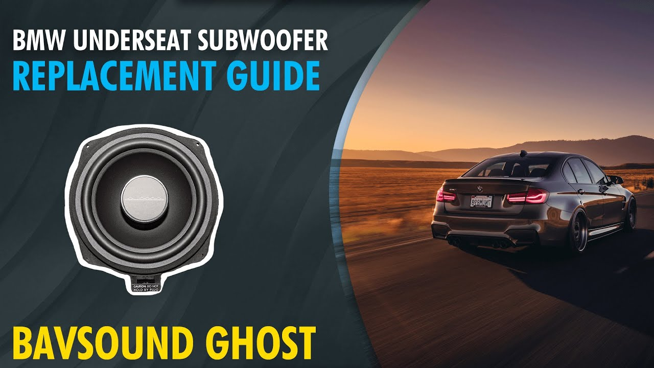 maxresdefault bavsound ghost bmw underseat woofer replacement guide youtube 4 Ohm Speaker Wiring Diagram at mr168.co