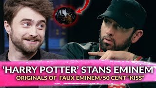 "Daniel Radcliffe ""harry Potter"" Is A Huge Eminem Fan, Originals Of French Montana's Doctored Photos"