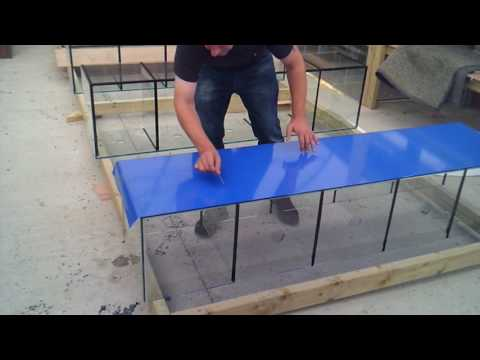 How To Apply Vinyl Backing To Aquarium