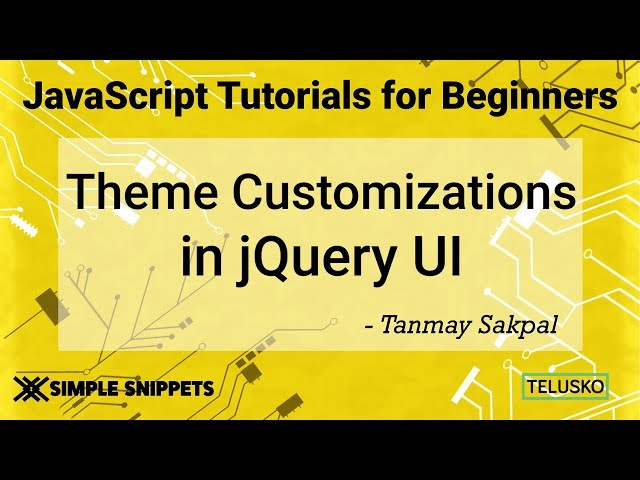 Theming Theme Roller Customizations in JQuery UI