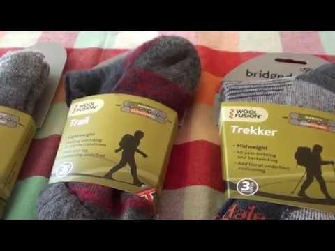 Bridgedale socks - Trail ,Trail Ultra Light, Trekker - review