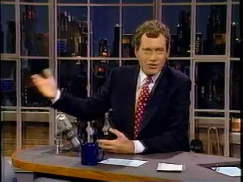 05 16 1989 Letterman Jerry Hall Billy Connolly Norm Abram