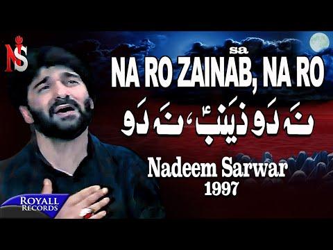 Nadeem Sarwar | Na Ro Zainab | 1997