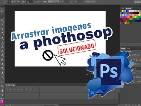 arrastrar imagenes a photoshop cs6 (solucionado)