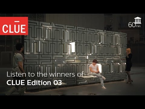 Listen to the winners of CLUE Edition 03