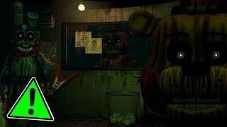 Phantom Toy Freddy In FNaF 3! I FNaF 3 x FNaF 2 (Mod)