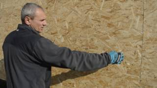 строительство каркасного дома.Правила монтажа OSB плит