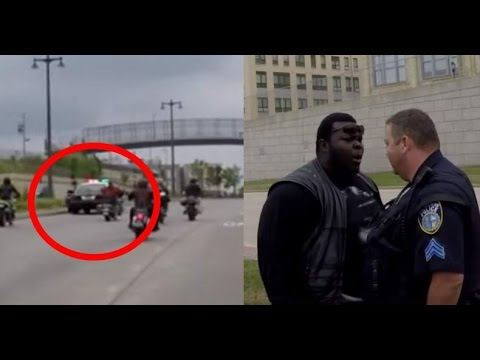 Video Captures a Milwaukee Cop Run Down a Motorcyclist and the Tense Aftermath