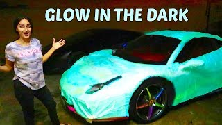 GLOW IN THE DARK FERRARI *CRAZY* !!!