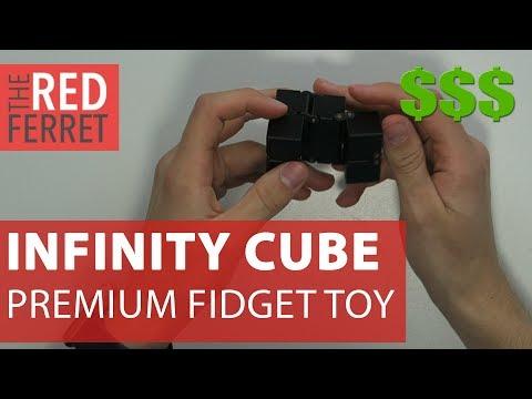 Infinity Cube - The Amazing Premium 100$ Fidget Toy! [REVIEW]