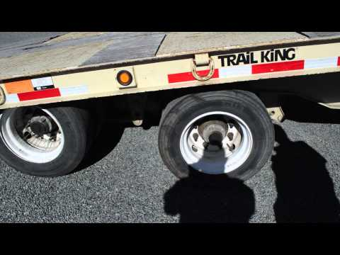Used Trail King Tilt Deck Trailer │Charter & Company Truck Sales