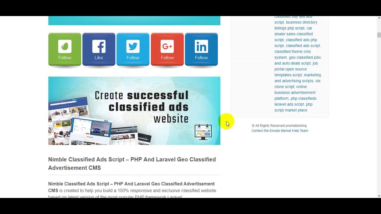 Cms Script Nimble Classified Ads Script Php And Laravel Geo Classified Advertisement Cms