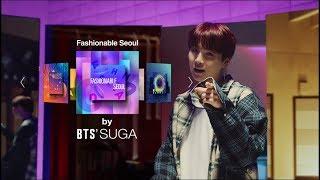 [2018 Seoul City TVC] Fashionable Seoul by BTS' SUGA