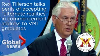 Rex Tillerson alludes to threat from Trump's