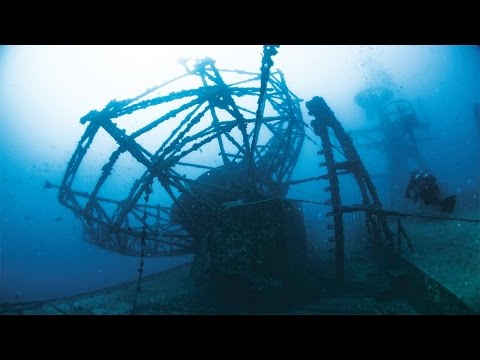 The Most Amazing Dive Wrecks in the World