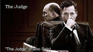 "The Judge soundtrack ""The Judge"" Thomas Newman Piano"